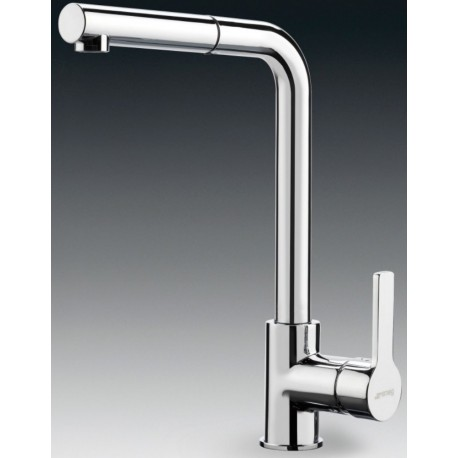 SMEG MID1CR SINGLE LEVER SINK MIXER TAP CHROME