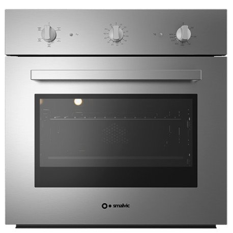 SMALVIC ELECTRIC MULTIFUNCTION OVEN BASIC INOX 60 FI-60WT NC64-PSC STAINLESS STEEL - 60 CM