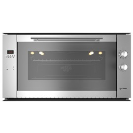 SMALVIC ELECTRIC MULTIFUNCTION OVEN BASIC INOX 90 FI MAX20F MT INOX PE STAINLESS STEEL EEC A - 90x48 CM