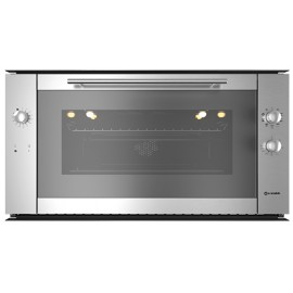 SMALVIC ELECTRIC MULTIFUNCTION OVEN BASIC INOX 90 FI MAX20F MT INOX PSC STAINLESS STEEL EEC A - 90x48 CM