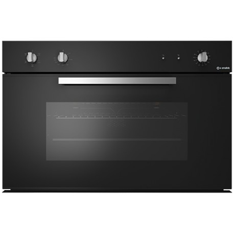 SMALVIC ELECTRIC MULTIFUNCTION OVEN BASIC 90 FI-90WT NC90-PSC BLACK - 90 CM