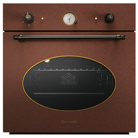 SMALVIC ELECTRIC MULTIFUNCTION OVEN COUNTRY 60 FI-60WT R62F-ORPE COPPER - 60 CM