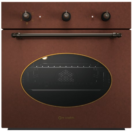 SMALVIC ELECTRIC MULTIFUNCTION OVEN COUNTRY 60 FI-60WT R62F-PSC COPPER - 60 CM