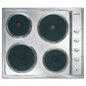 SMEG ELECTRIC HOB CUCINA SE435S STAINLESS STEEL - 60 CM