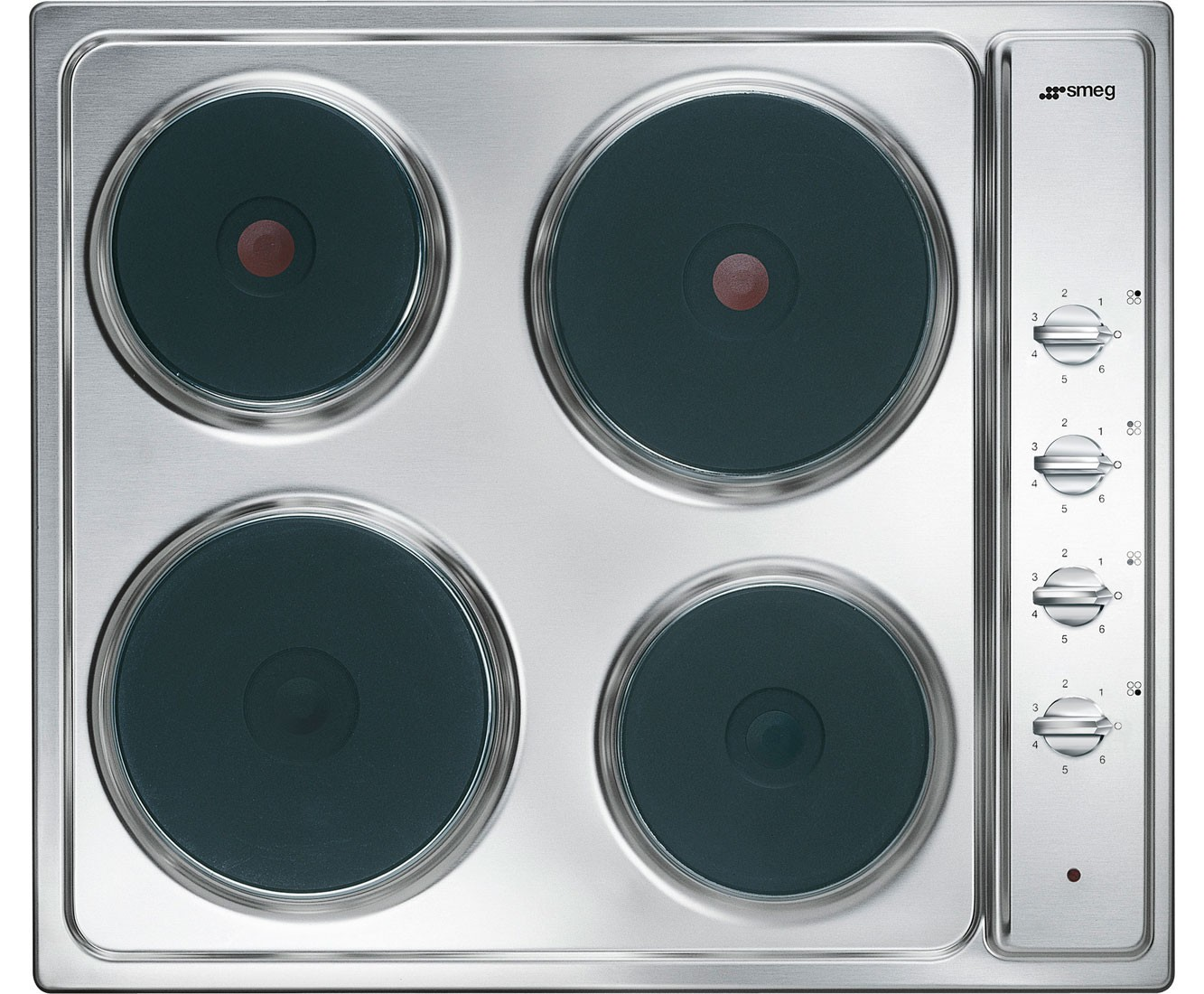 smeg elektro kochfeld se435s edelstahl 60 cm fab appliances