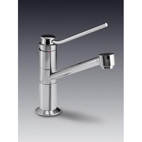 SMEG MF4 SINGLE LEVER SINK MIXER TAP CHROME