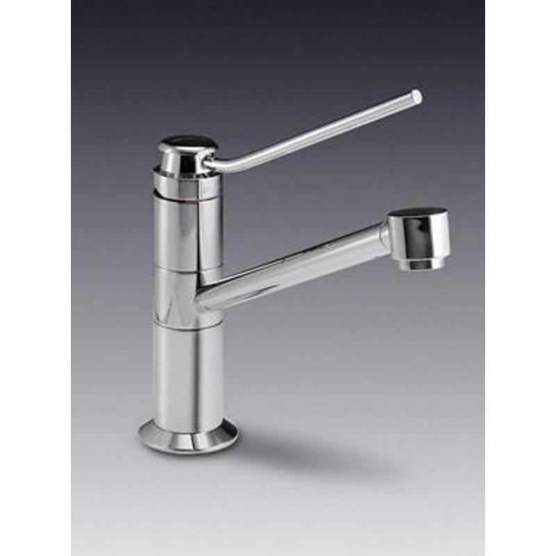 Smeg Mf4cr Single Lever Sink Mixer Tap Chrome Fab Appliances