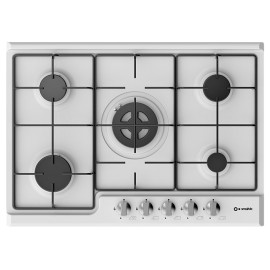SMALVIC GAS HOB BASIC 70 PD-70V4G1DC BIANCO WHITE - 70 CM
