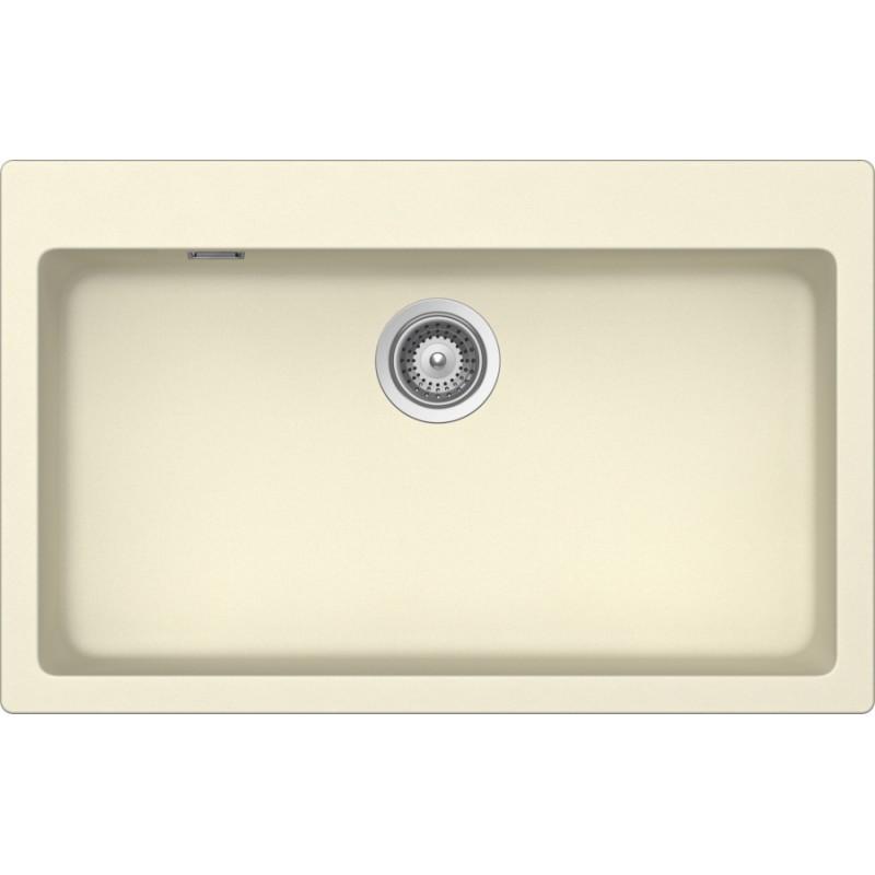 Cream Sinks For The Kitchen : SCHOCK KITCHEN SINK PRIMUS N100XL AP - 1 BOWL CRISTALITE CREAM FAB...