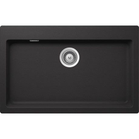 SCHOCK KITCHEN SINK PRIMUS N100XL AP - 1 BOWL CRISTALITE MATT BLACK