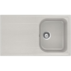 SCHOCK KITCHEN SINK LITHOS D100 A - 1 BOWL CRISTALITE ALUMINIA