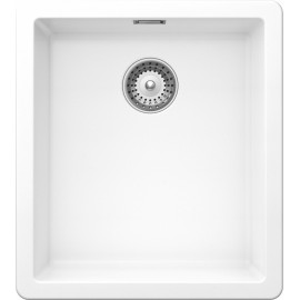 SCHOCK GALAXY N100S A KITCHEN SINK SINGLE BOWL CRSTADUR PURE WHITE