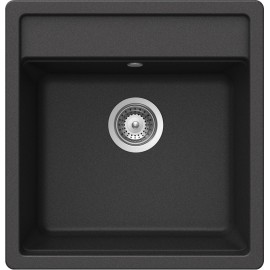 SCHOCK NEMO N100S KITCHEN SINK SINGLE BOWL CRSTADUR ANTHRACITE