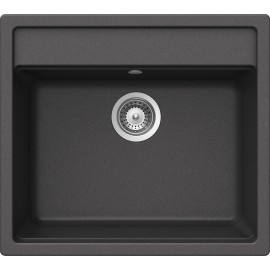 SCHOCK NEMO N100 KITCHEN SINK SINGLE BOWL CRSTADUR ANTHRACITE