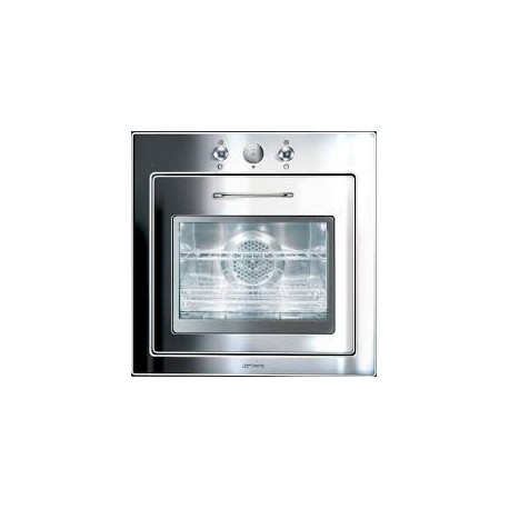 SMEG MULTIFUNCTION OVEN F67-7 POLISHED STAINLESS STEEL PIANO DESIGN LINE 60 CM