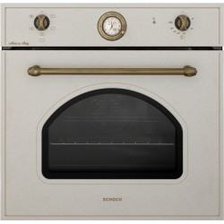 SCHOCK ELECTRIC VENTILATED OVEN NEW ENGLAND F605 OATMEAL 60 CM
