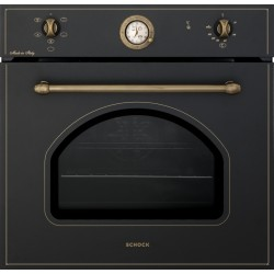 SCHOCK ELECTRIC VENTILATED OVEN NEW ENGLAND F605 BLACK 60 CM