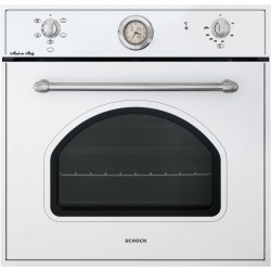 SCHOCK ELECTRIC VENTILATED OVEN NEW ENGLAND F605 WHITE ALPINA 60 CM