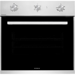 SCHOCK ELECTRIC VENTILATED OVEN SILVER F605 STAINLESS STEEL 60 CM