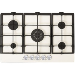 SCHOCK GAS HOB PRIMUS PC75AVG WHITE ALPINA 75 CM