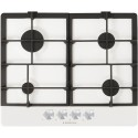 SCHOCK GAS HOB PRIMUS PC60AVG WHITE ALPINA 60 CM