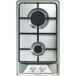 SCHOCK GAS HOB DOMINO PRIMUS PC30AV 2G STAINLESS STEEL 30 CM