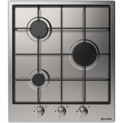 SMALVIC GAS HOB SPECIAL 45 PI-SDX45 3G VS STAINLESS STEEL - 45 CM