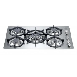 LA GERMANIA GAS HOB FUTURA 90 P910 1 K9 X STAINLESS STEEL - 90 CM