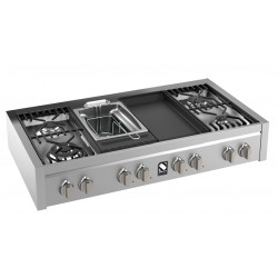 STEEL GENESI 120 COOKTOP G12-4TF STAINLESS STEEL BASE 120 CM