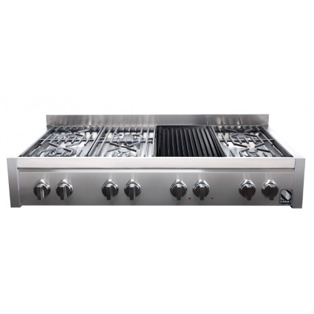 STEEL GENESI 120 COOKTOP G12-6B STAINLESS STEEL BASE 120 CM