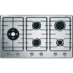 WHIRLPOOL GAS HOB iXELIUM GMR9542/IXL STAINLESS STEEL - 90 CM