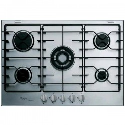 WHIRLPOOL GAS HOB iXELIUM GMR7541/IXL STAINLESS STEEL - 73 CM