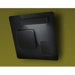 elica feel noir wandhaube 80 cm eek a fab appliances. Black Bedroom Furniture Sets. Home Design Ideas