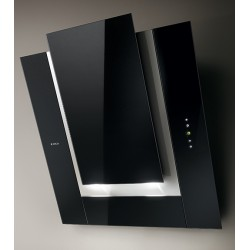 ELICA ICO BLACK 80 CM WALL MOUNTED HOOD