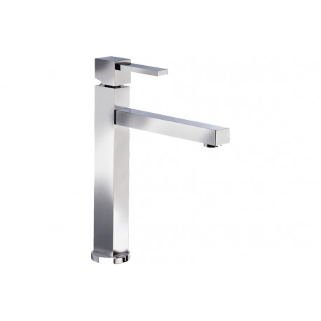 SMEG MFQ8-IS2 SINGLE LEVER SINK MIXER TAP BRUSHED STAINLESS STEEL