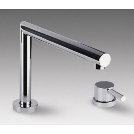 SMEG MT0 SINGLE LEVER TELESCOPIC SINK MIXER TAP CHROME