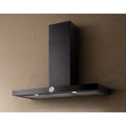 ELICA LOL BLACK 90 CM WALL MOUNTED HOOD