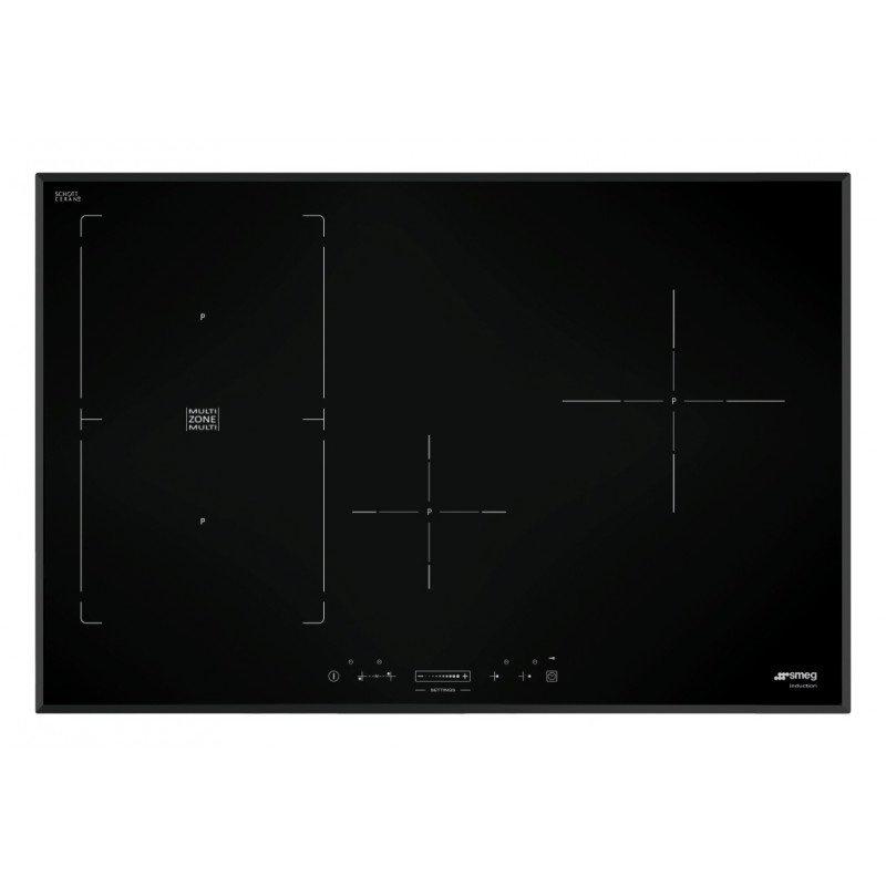 smeg induction hob sim580b 80 cm bevelled edges fab appliances. Black Bedroom Furniture Sets. Home Design Ideas