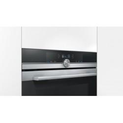 SIEMENS ELEKTROBACKOFEN MIT MIKROWELLE HM633GBS1 EDELSTAHL UND SCHWARZ GLAS 60 CM