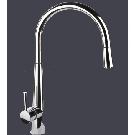 SMEG MD14CR SINGLE LEVER SINK MIXER TAP CHROME
