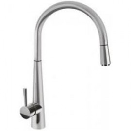 SMEG MD14CSP SINGLE LEVER SINK MIXER TAP BRUSHED STAINLESS STEEL