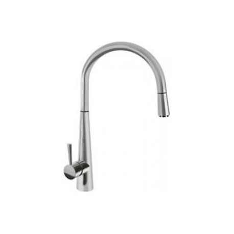 SMEG MD14IS2 SINGLE LEVER SINK MIXER TAP BRUSHED STAINLESS STEEL