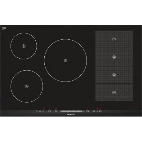 table de cuisson induction siemens eh875mp17e flexinduction 80 cm. Black Bedroom Furniture Sets. Home Design Ideas
