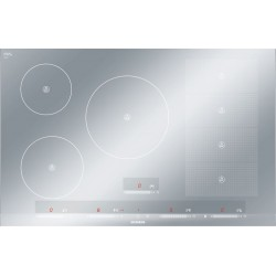 SIEMENS INDUCTION HOB EH879SP17E FLEXINDUCTION METAL LOOK 80 CM