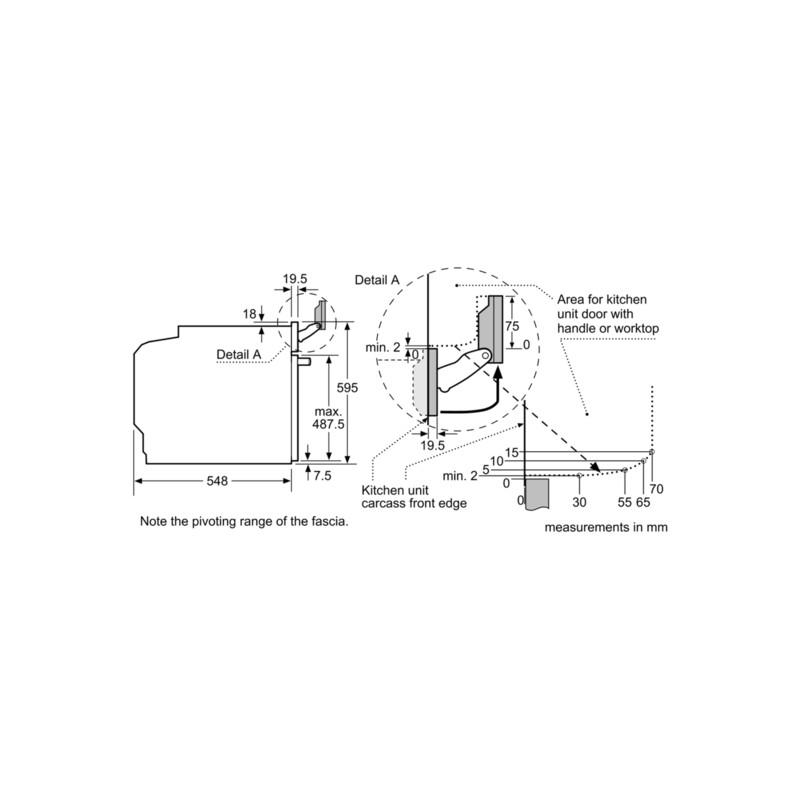 four lectrique siemens avec micro ondes et vapeur hn678g4w1 acier. Black Bedroom Furniture Sets. Home Design Ideas