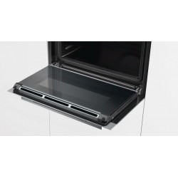 SIEMENS ELECTRIC COMPACT OVEN CB635GBS1 STAINLESS STEEL AND BLACK GLASS 60x45 CM EEC A+