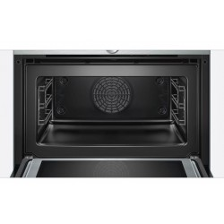 SIEMENS ELECTRIC COMPACT OVEN WITH MICROWAVE CM633GBS1 STAINLESS STEEL AND BLACK GLASS 60x45 CM