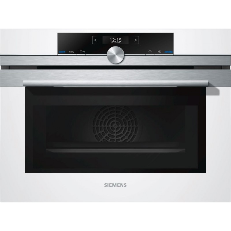 Siemens Electric Compact Oven With Microwave Cm633gbw1