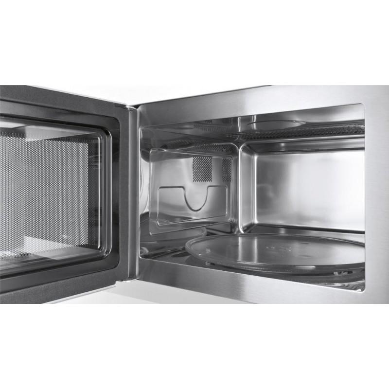 siemens einbau mikrowellen hf15m564 edelstahl und schwarz glas rahm. Black Bedroom Furniture Sets. Home Design Ideas