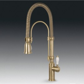 SMEG MIDR7O-2 SINGLE LEVER SINK MIXER TAP BRASS